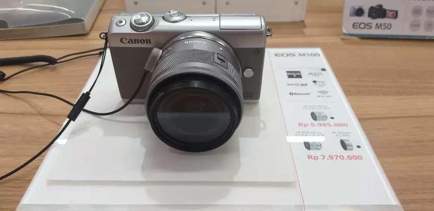 Ready Canon EOS M100 Dikredit 0