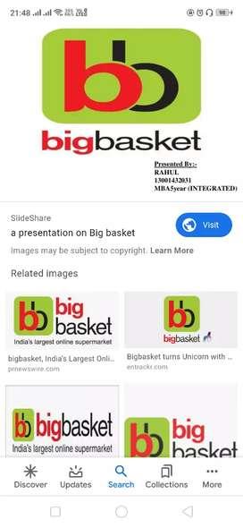 Job in big basket