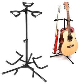 AROMA Stand Gitar Folding 3 Dock