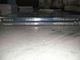 NCERT class 11 Physics textbook (part 1 & 2)