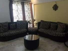 Sofa with center sofa