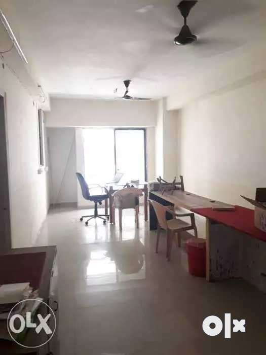 Unfurnished office with attached toilet 0