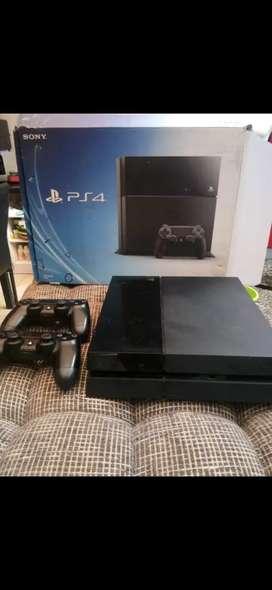 Jual PS4 Slim bekas plus game 500gb