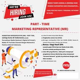 Marketing Representative (MR) - Part Time