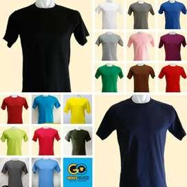 Kaos Polos Distro ~ Asli Cotton Combed 30s 100% Premium ~Soft Adem