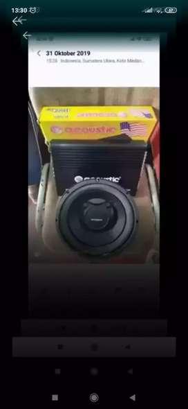 Power acoustic + sub acelella ( Megah top )