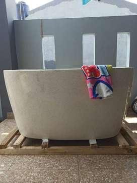 Bathtub Tipe Jepang Handmade Terazzo Custome P150cm