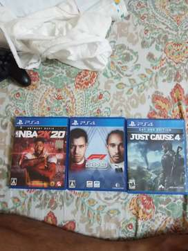 PS4 Games for sale 5000/-