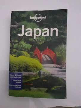 Buku lonely planet JAPAN