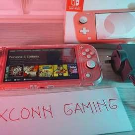 Nintendo Switch Lite Custom 256gb