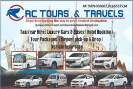 RC Tours & Travels/Taxi service, car Rental