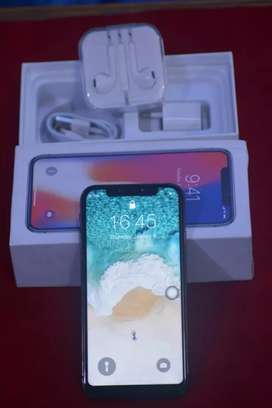 Excellent condition X apple iPhone