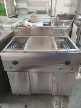 Fryer double tank central siZZLING AUTO 8 LITRS