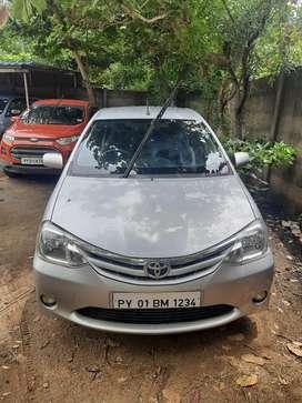 Toyota Etios VD, 2011, Diesel