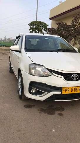 Toyota Etios Liva 2017 Petrol 90000 Km Driven