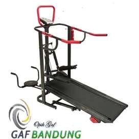 Treadmill manual multifungsi Total