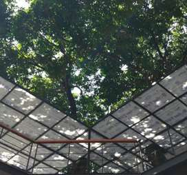 Kanopi solarflat dan canopy alderon #5047