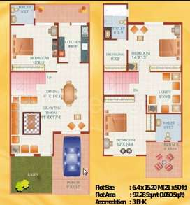For Sale 3 BHK Duplex at Covered Campus,AG Classic, Kolar Road, Bhopal