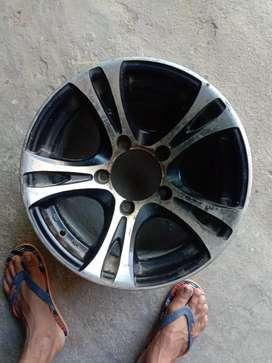 Alloy wheels scerpio, jypsy, jeep ,innovo etc fresh alloy wheels