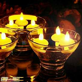 Candle Lighting Lamp Water Diya (Multiple Pack)