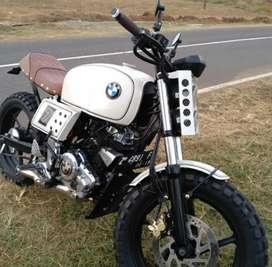 Yamaha Byson 2014 custom 200 cc surat komplit