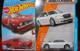Hotwheels & Matchbox paket series