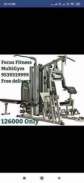 All Fitness Equipments available at Focus Fitness Shoppe