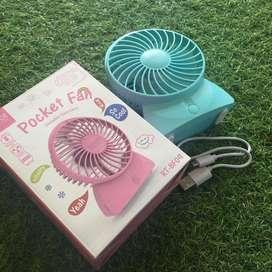 Kipas angin portable robot pocket fan