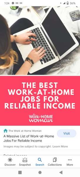 Work from home copy paste work available here ...