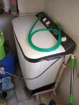 Haier 7.2 kg semiautomatic washing machineinka