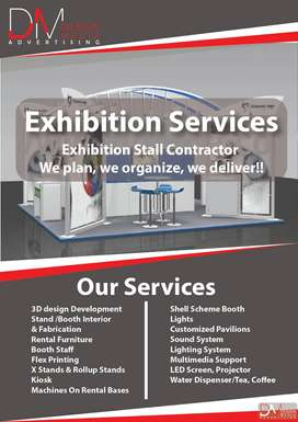 Exhibition Services & Stall Fabrication 2019