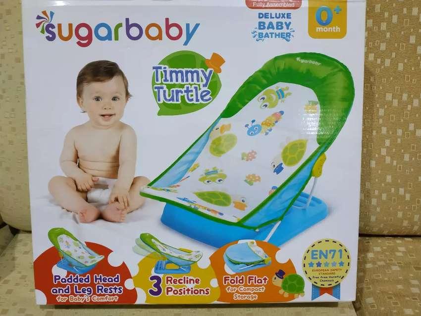 Sugar baby deluxe baby bather (kursi mandi bayi) 0