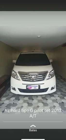 Dijual mobil Alphard 2013