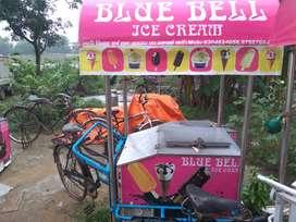 Ice cream trolley thala deep freezer