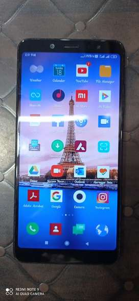 Redmi note5 pro 4gb RAM 64gb internal only for 15 month old