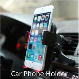 Dudukan Ponsel HP Mobil Jepit Lubang Angin Pendingin Car Phone Holder