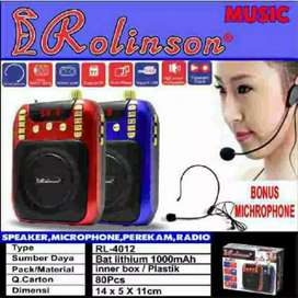 Speaker pinggang/ Waistband Rolinson RL-4012