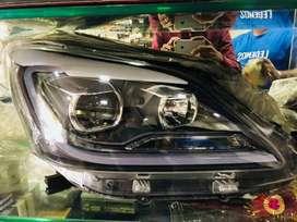 Crysta Type head lights for Innova. Fully