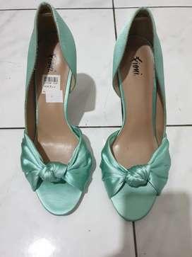 Sepatu Fioni - Hijau Tosca
