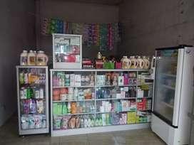 Kosmetik,alat salon dan etalase
