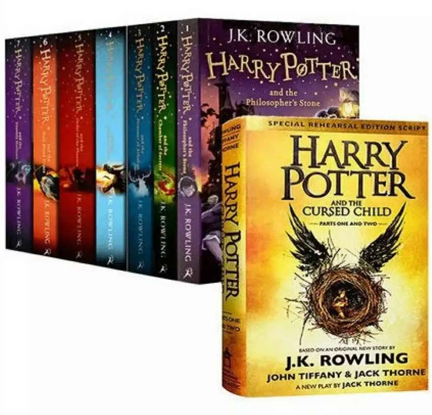 HARRY POTTER SERIES 8 NOVELS SET | UPTO 65% OFF | BRAND NEW CONDITION