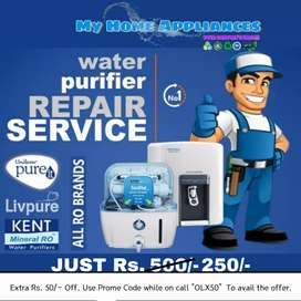R.O water Purifier Premium PRO Service., Just Rs. 250/-