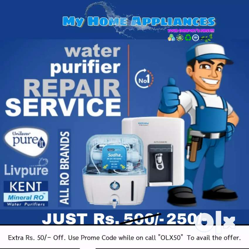 R.O water Purifier Premium PRO Service., Just Rs. 250/- 0