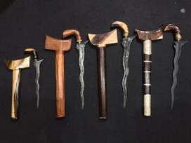 Pedang, keris, samurai