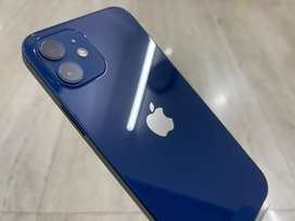 Iphone 12 128Gb blue indian only box open new with bill