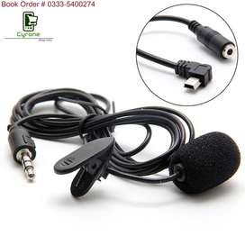 3.5mm Microphone & Adapter Cable For Go-Pro, Dslr, Action Camera