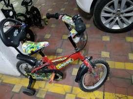 Bycycle for 2-4 yr kids - Kross Buddy B14