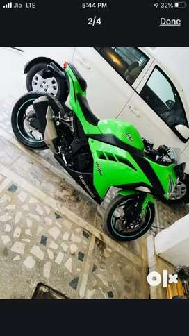 Bike Kawasaki Ninja 300 Well condition new model