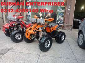 125cc Luxury ATV Quad Four Wheels Bike Online Deliver In All Pakistan