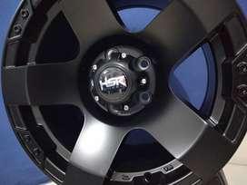 Velg model offroad ring 15 HSR RASTA R15 baut 5x114,3 Black gresik